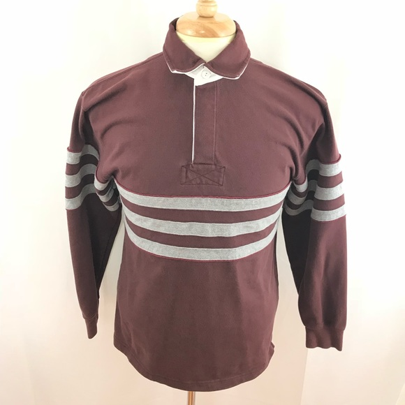abbb1b04 51% off L.L. Bean Shirts Vintage Ll Bean Long Sleeve Rugby Polo ...